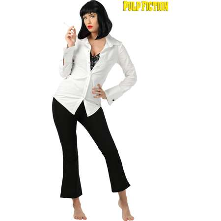 Mia Wallace Pulp Fiction Costume for Women thumb