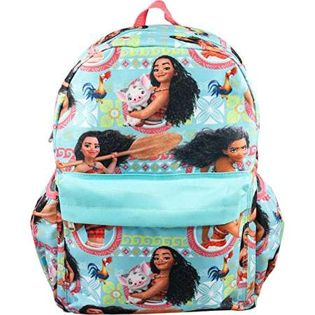 "Small Backpack - Disney - Moana Allover 12"" New 003319 thumb"
