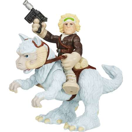 Playskool Heroes Star Wars Galactic Heroes Tauntaun and Han Solo thumb