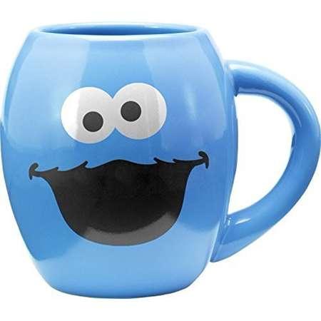 Sesame Street Cookie Monster 18 Oz. Oval Mug thumb