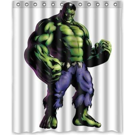 DEYOU The Incredible Hulk Shower Curtain Polyester Fabric Bathroom Shower Curtain Size 60x72 inch thumb