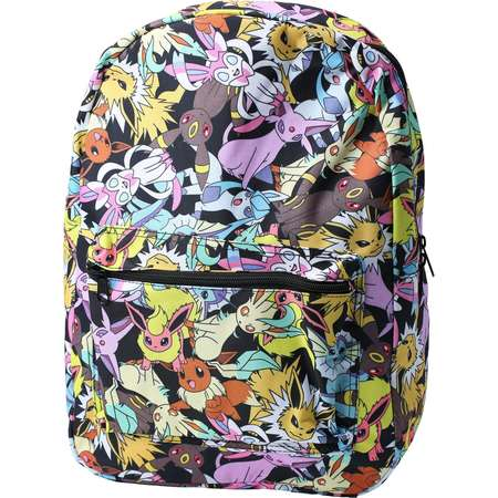 Pokemon Eevee Evolution All Over Print Backpack thumb