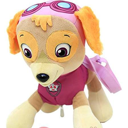 "Paw Patrol Skye Plush Doll Backpack 14"" Costume Bag Girls Dog thumb"