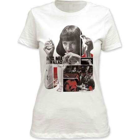 Pulp Fiction Mia Junior T-Shirt thumb