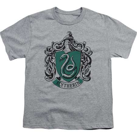 Harry Potter Slytherin Crest Big Boys Youth Shirt thumb