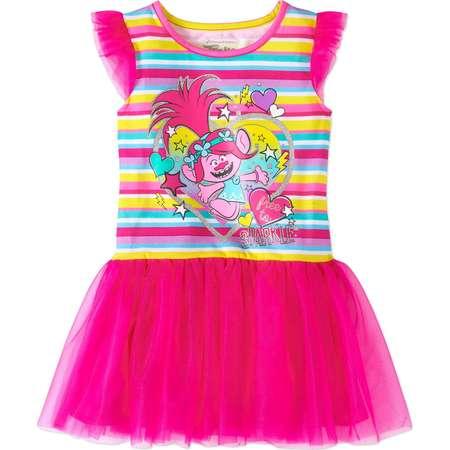 Trolls Toddler Girl Sleeveless Tutu Dress thumb