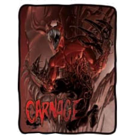 Blanket - Marvel - Spiderman Toxin Carnage Fleece Throw Licensed cfb-me-carn thumb