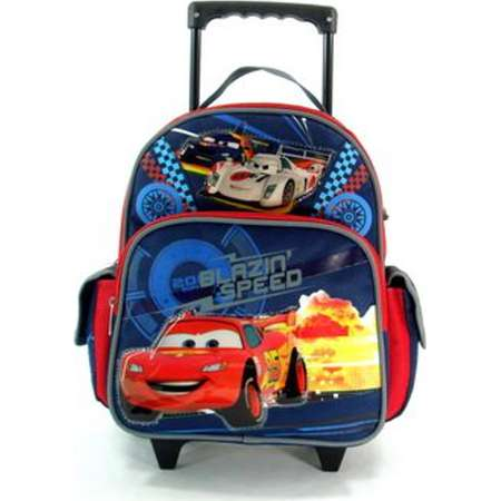 Cars Rolling BackPack - Cars Rolling School Bag Small by S Shop thumb