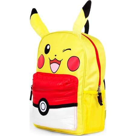 "Pokemon Pikachu 16"" Kids Licensed Backpack with Puffed Pocket thumb"