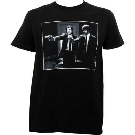 Pulp Fiction Men's Jules And Vincent T-Shirt Black thumb