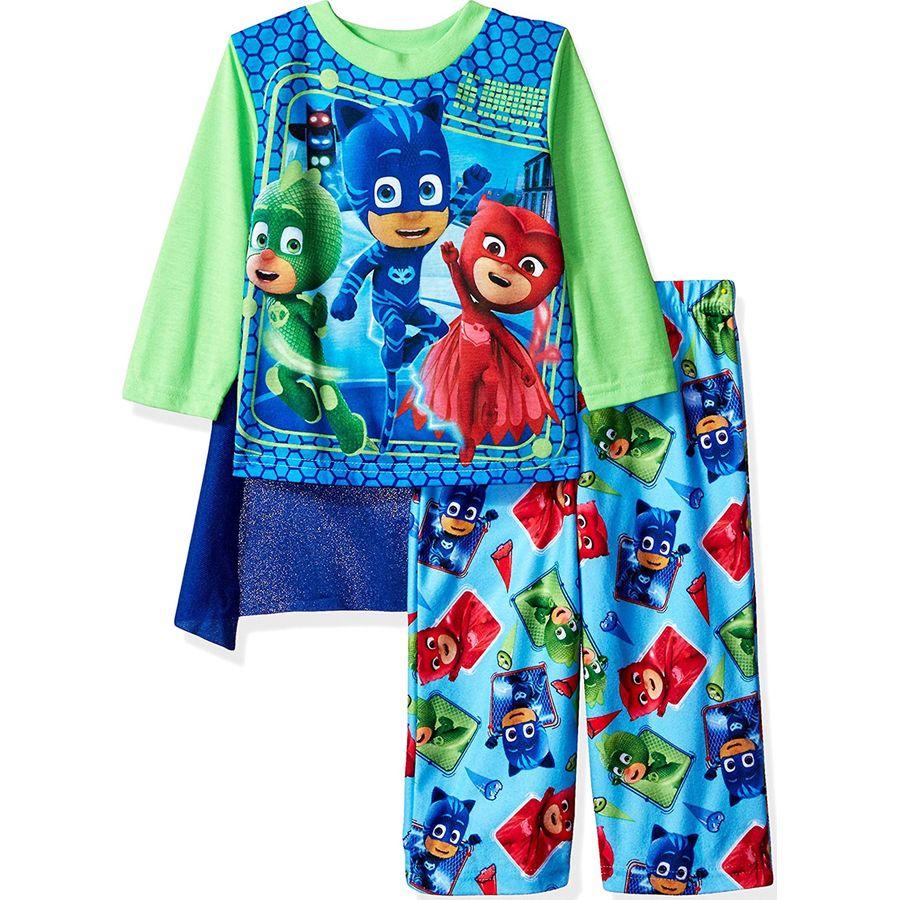 "PJ Masks /""Ready Set Go!/"" boys 2 pack of 100/% cotton pajamas size 2T"