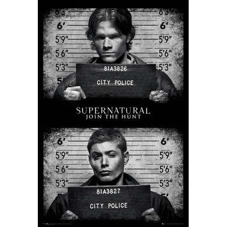 Supernatural- Mug Shots Poster - 24x36 thumb