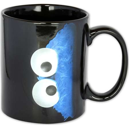 Sesame Street - Ceramic Coffee Mug / Cup (Cookie Monster) thumb