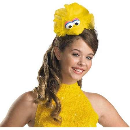 Sesame Street Big Bird Headband Adult Halloween Costume Accessory thumb