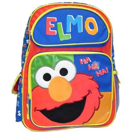 Backpack - Sesame Street - Elmo Ha Ha Ha Large School Bag New 054568 thumb
