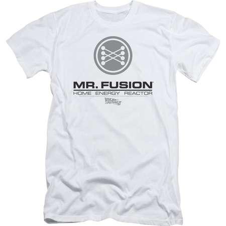 Back To The Future Ii Mr. Fusion Logo Mens Slim Fit Shirt thumb