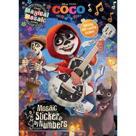 Disney Pixar Coco Mosaic Sticker by Numbers : Create Magical Mosaic Scenes thumb
