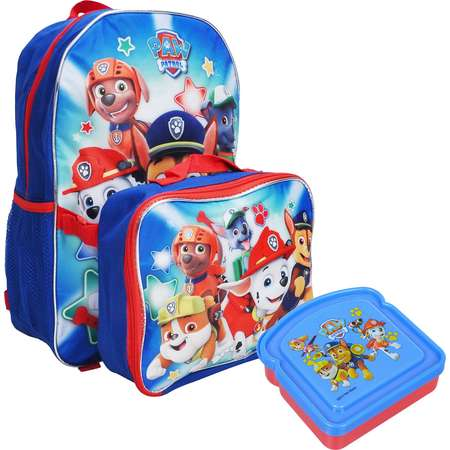 Paw Patrol Boys Backpack & Lunch Bag with Bonus Sandwich Container thumb