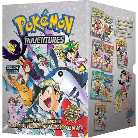 Pokemon Adventures Gold & Silver Box Set (set includes Vol. 8-14) (Pokemon) thumb