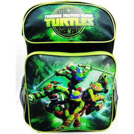 Backpack - Teenage Mutant Ninja Turtles - TMNT School Bag New TN26783 thumb