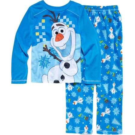 8996d11859 Disney Frozen Toddler   Boys Olaf Pajamas Fleece Sleep Set 4 thumb