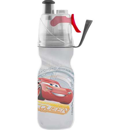 O2COOL Licensed ArcticSqueeze Insulated Mist 'N Sip Squeeze Bottle 12 oz., Cars thumb