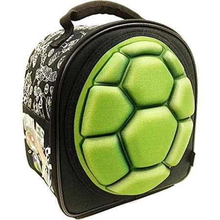 Lunch Bag - Teenage Mutant Ninja Turtles - Shell TMNT Black New 113142 thumb