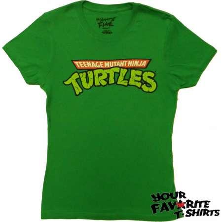 Teenage Mutant Ninja Turtles TMNT Logo Junior T-Shirt thumb