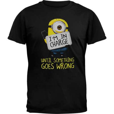 Despicable Me - I'm in Charge Adult T-Shirt thumb