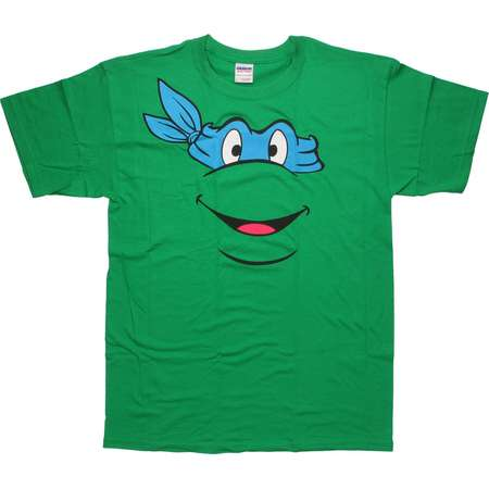 Teenage Mutant Ninja Turtles Leonardo Face T-Shirt thumb