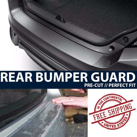 ZForce Rear Bumper Trunk Applique Paint Protection Clear Bra Film for 2014-2015 Mitsubishi Outlander thumb