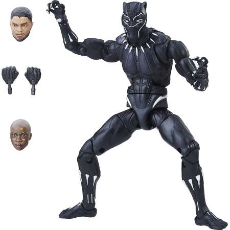 Marvel Black Panther 6-inch Legends Series Black Panther thumb