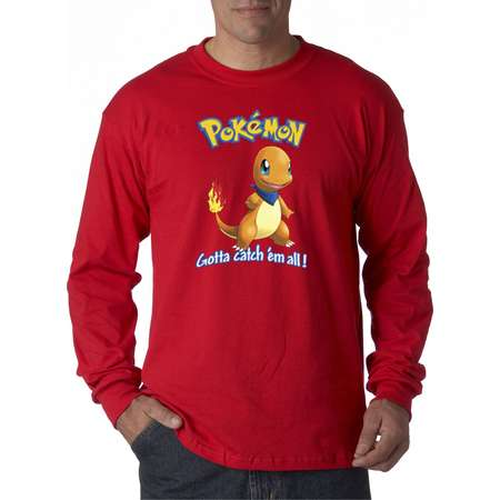50a221e0 New Way 560 - Unisex Long-Sleeve T-Shirt Pokemon Go Gotta Catch '