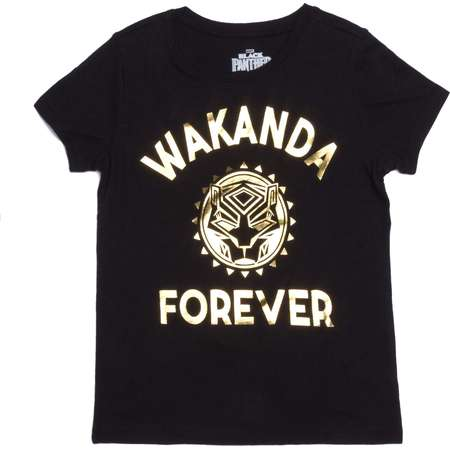Wakanda Forever Graphic T-Shirt (Little Girls & Big Girls) thumb