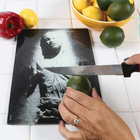 Star Wars Han Solo Frozen In Carbonite Glass Tempered Cutting Board thumb