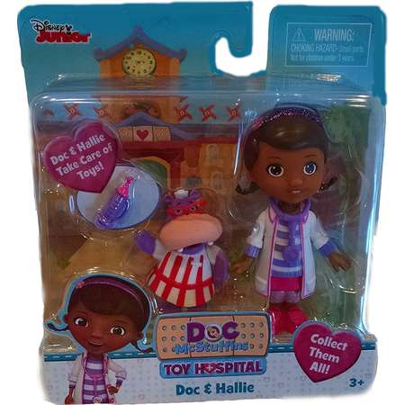 Doc McStuffins Disney Junior Toy Hospital Doc & Nurse Hallie Playset thumb