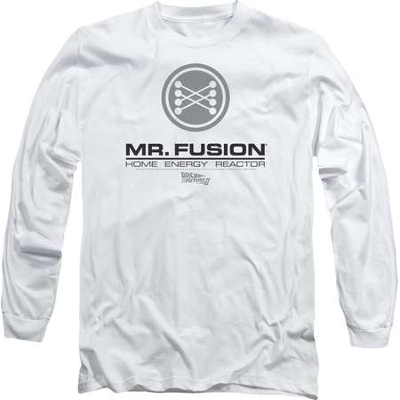 Back To The Future Ii Mr. Fusion Logo Mens Long Sleeve Shirt thumb