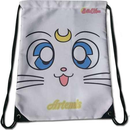 Sailor Moon Sailor Moon S Artemis Anime Drawstring Backpack thumb