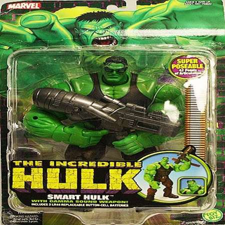 Marvel The Incredible Hulk Super Poseable Smart Hulk thumb