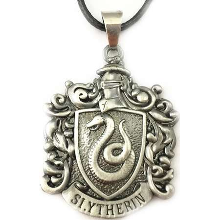 "Harry Potter Slytherin Crest 18"" Necklace in Gift Box by Superheroes thumb"