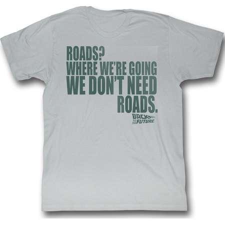 American Classics Back To The Future Roads T Shirt thumb
