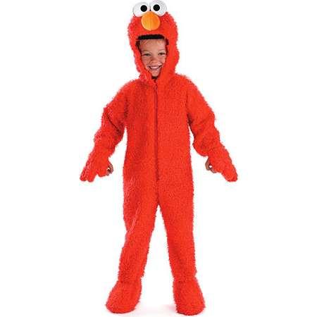 Toddler's Deluxe Sesame Street Elmo Plush Costume thumb