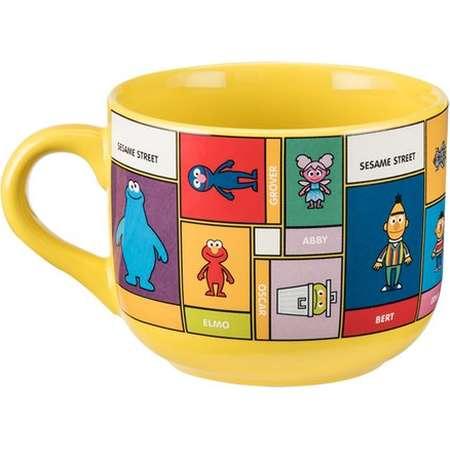 Vandor LLC Sesame Street 20 oz. Soup Mug thumb