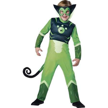 Wild Kratts Child Muscle Chest Costume Green Chris Kratt Spider Monkey Thumb