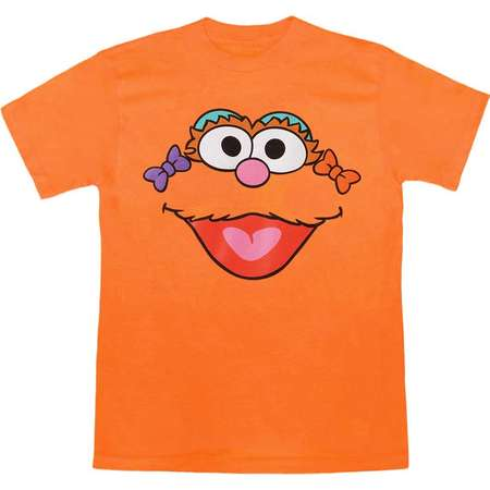 Sesame Street Zoe Face Adult T-Shirt thumb