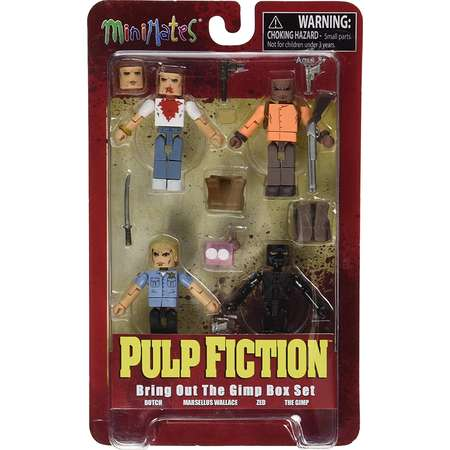 """Toys Pulp Fiction: 20th Anniversary """"Bring Out the Gimp"""" Minimates Action Figure Box Set, A Diamond Select Toys release By Diamond Select thumb"""