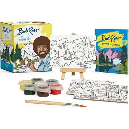 Miniature Editions: Bob Ross by the Numbers (Paperback) thumb