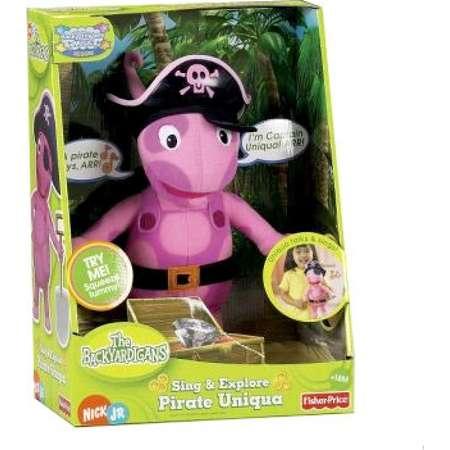 9dec273a198 The Backyardigans Sing   Explore Pirate Uniqua Plush thumb