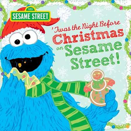 Twas the Night Before Christmas on Sesame Street thumb