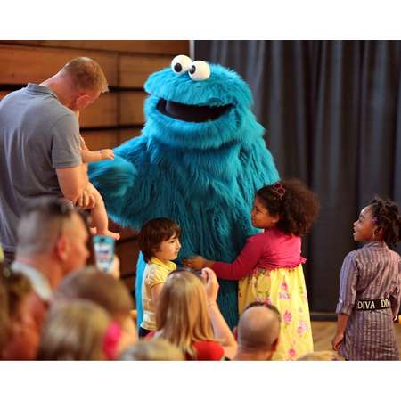 LAMINATED POSTER Sesame Street Character Muppet Cookie Monster Poster Print 24 x 36 thumb
